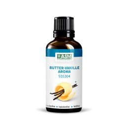 Butter - Vanille Aroma 935304 - 50ml Gebinde