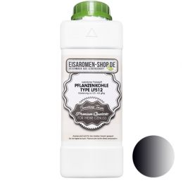 Pflanzenkohle Schwarz LF512 flüssig - natürlicher Farbstoff