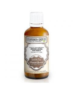 Zitronen Aroma 938515 - 50ml Gebinde