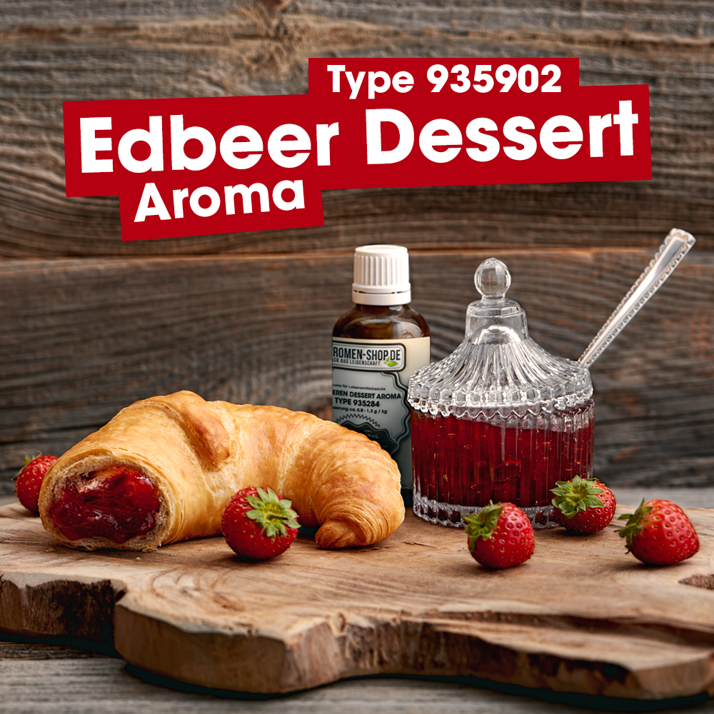 ASM® Erdbeeren Dessert Aroma 935902 fuer Speiseeis
