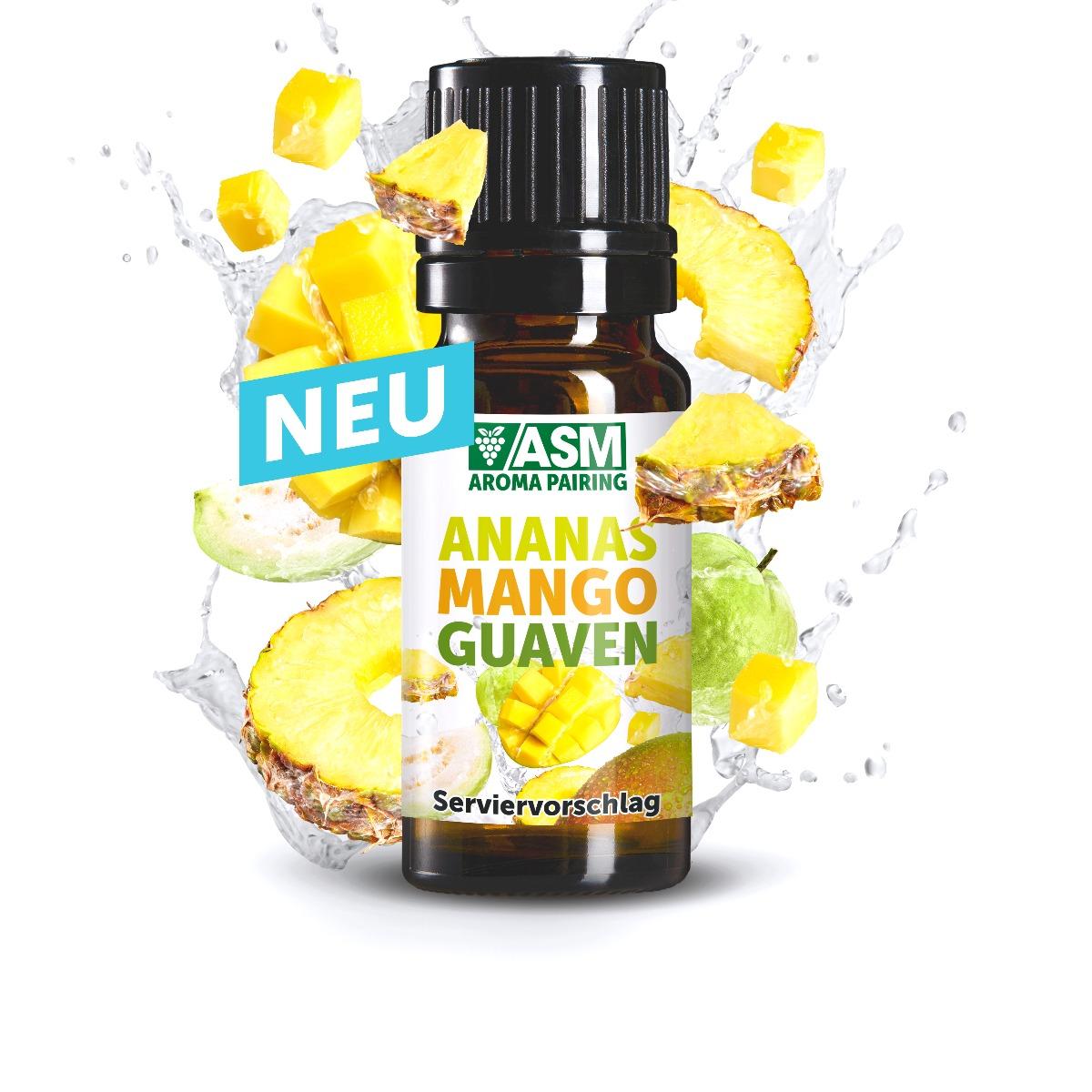 ASM® Ananas Mango Guaven Aroma 920557 fuer Speiseeis