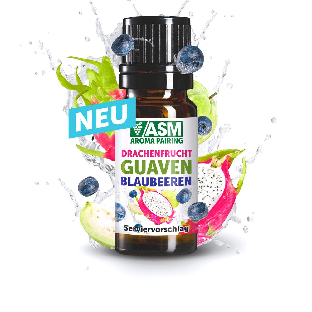 ASM® Drachenfrucht Guave Blaubeeren Aroma 905001 fuer Speiseeis