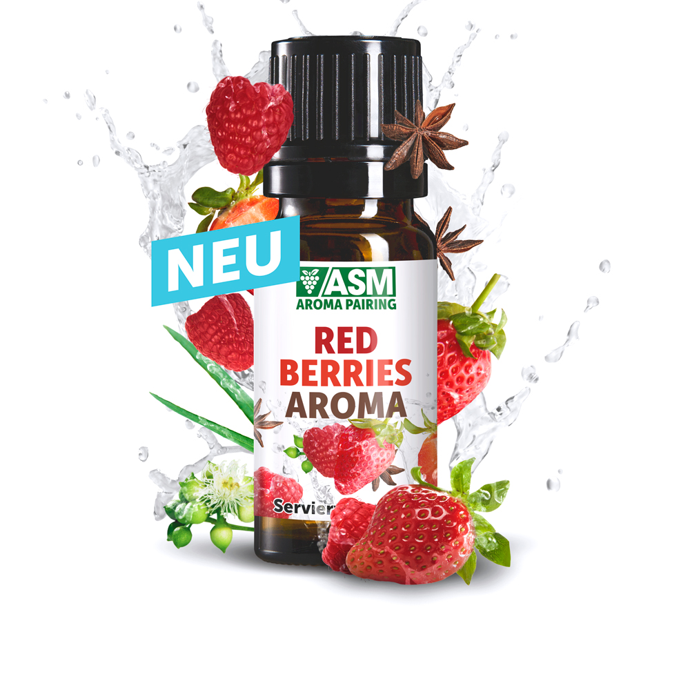 ASM® Red Berries Aroma 935651 fuer Speiseeis